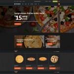 Шаблон Fooder для пиццерии №645