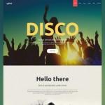 Шаблон Disco для ночного клуба #516