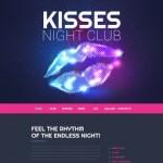 Шаблон Kisses для ночного клуба #517