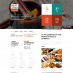 Шаблон Meat Fish для ресторана #527