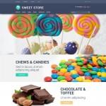 Шаблон Sweet Store для кондитерского кафе №693
