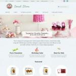 Шаблон Sweet Store для кондитерского кафе №694