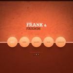 Шаблон Frank & Friends для кейтеринга №707
