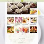 Шаблон Catering Online для кейтеринга №710
