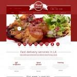 Шаблон Food Delivery для кейтеринга №711