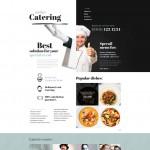 Шаблон Online Catering для кейтеринга №713