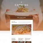 Шаблон Catering для кейтеринга №717