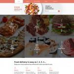 Шаблон Food Delivery для кейтеринга №718