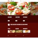 Шаблон для пиццерии №59