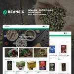 Шаблон Beansix для кофейни №724