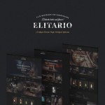 Шаблон Elitario для винного ресторана #732