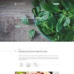 Шаблон Plantables для вегетарианского ресторана #734