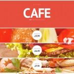 Шаблон Cafe для кафе №106