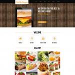 Шаблон Food for Everyone для кафе №117