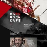 Шаблон Hard Rock Cafe для кафе №131