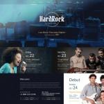 Шаблон Hardrock для кафе №135