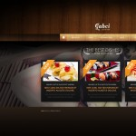 Шаблон Gabci Sushi Bar для ресторана морепродуктов №140