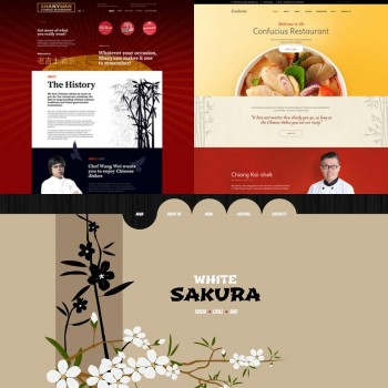 Добавление шаблонов для китайского ресторана
