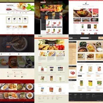 Добавление шаблонов для азиатского ресторана
