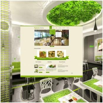 Добавление шаблонов для вегетарианского ресторана