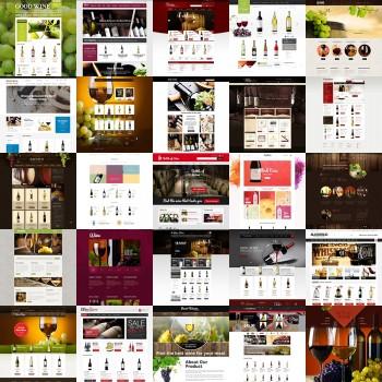 Добавление шаблонов для винного ресторана
