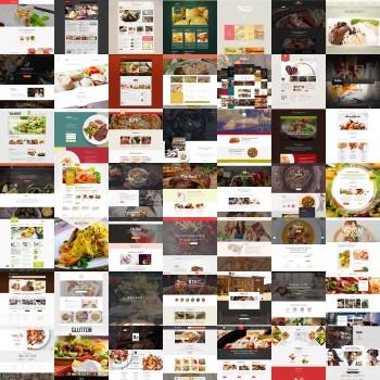 Добавление шаблонов для ресторана