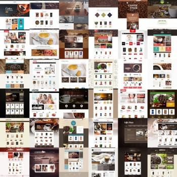 Добавление шаблонов для кофейни