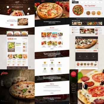 Добавление шаблонов для пиццерии